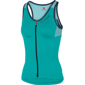 Castelli Solare Bike Jersey Sleeveless Women teal